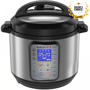 6 Qt 9-in-1 Multi- Use Programmable Pressure Cooker, Slow Cooker, Rice Cooker, Yogurt Maker, Egg Cooker, Sauté, Steamer, Warmer, and Sterilizer