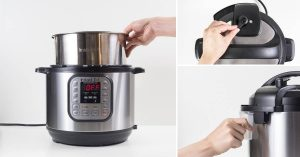 wash the instant pots