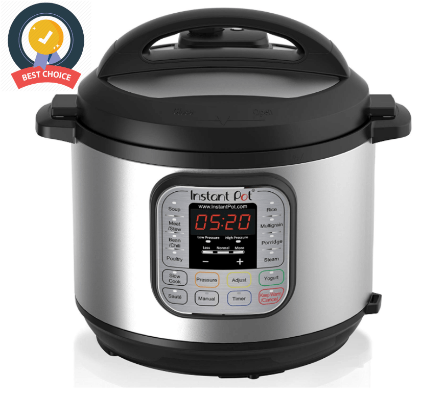 Multi- Use Programmable Pressure Cooker, Slow Cooker, Rice Cooker, Steamer, Sauté, Yogurt
